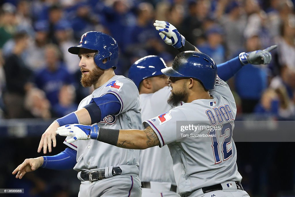 Division Series - Texas Rangers v Toronto Blue Jays - Game Three