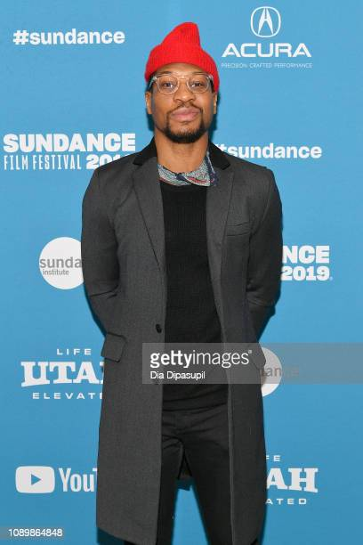 Jonathan Majors attends the The Last Black Man In San Francisco Premiere during the 2019 Sundance Film Festival at Eccles Center Theatre on January...