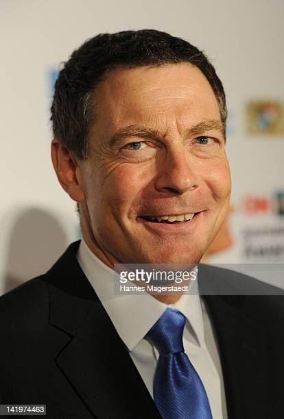 Jonathan Mann attends the CNN Journalist Award 2012 at the GOP Variete Theater on March 27, 2012 in Munich, Germany.