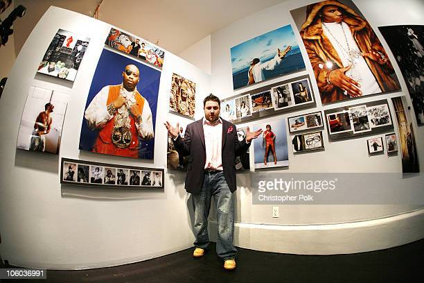 Jonathan Mannion during Bacardi Big Apple and Jonathan Mannion Hip Hop Photo Exhibition June 26 2006 at 222 Gallery in Los Angeles California United...