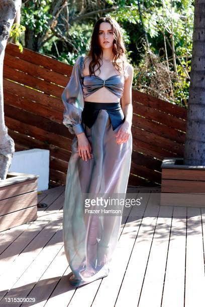 Jonathan Marc Stein Autumn/Winter 2021 Virtual Show Debut Filming on April 29, 2021 in Studio City, California.