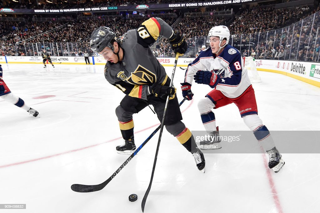 Columbus Blue Jackets v Vegas Golden Knights