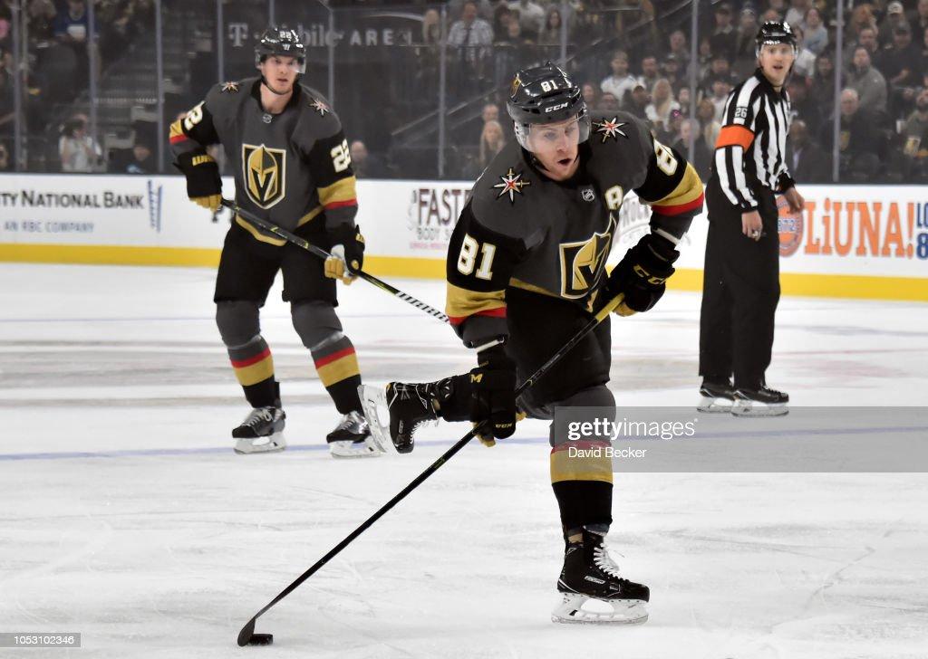 Golden Knights Vs Canucks News: Jonathan Marchessault Of The Vegas Golden Knights Prepares