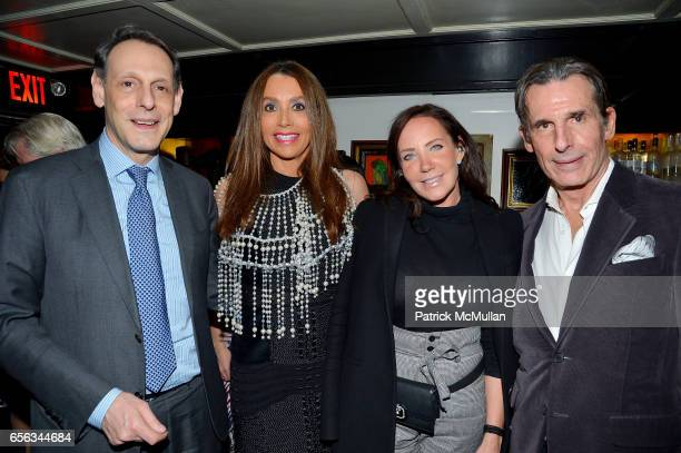 Jonathan Marder Lieba Nesis Camilla Olsson and Roy Kean attend Hunt Slonem's Birds Book Signing and Celebration Hosted by Liliana Cavendish at Omar's...