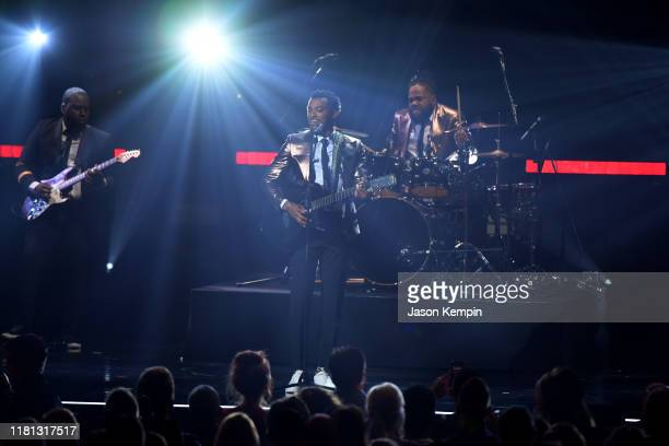 Jonathan McReynold performs at the 50th Annual GMA Dove Awards on October 15, 2019 in Nashville, Tennessee.