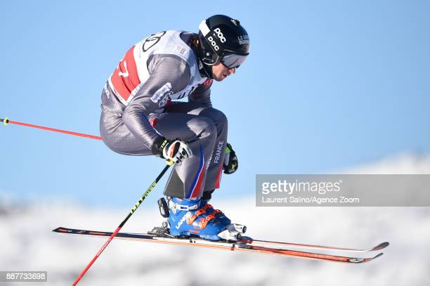 Jonathan Midol of France during qualifications during the FIS Freestyle Ski World Cup, Men's and Women's Ski Cross on December 7, 2017 in Val...