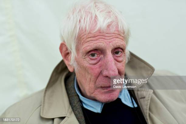 Jonathan Miller opera and theatre director at The Times Cheltenham Literature Festival on October 5 2013 in Cheltenham England