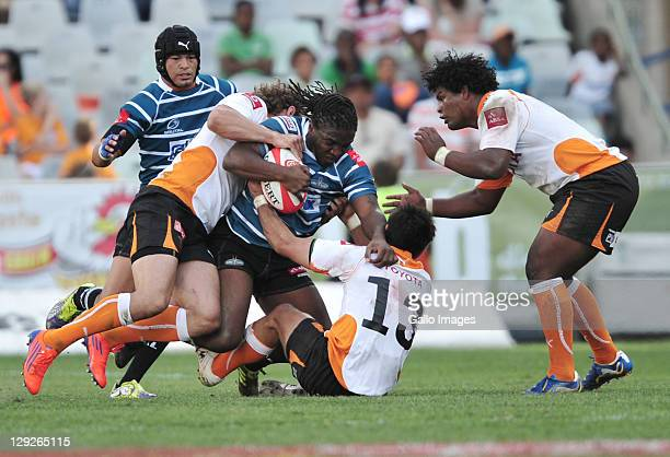 Jonathan Mokuena of the GWK Griquas during the Absa Currie Cup match between Toyota Free State Cheetahs and GWK Griquas at Free State Stadium on...