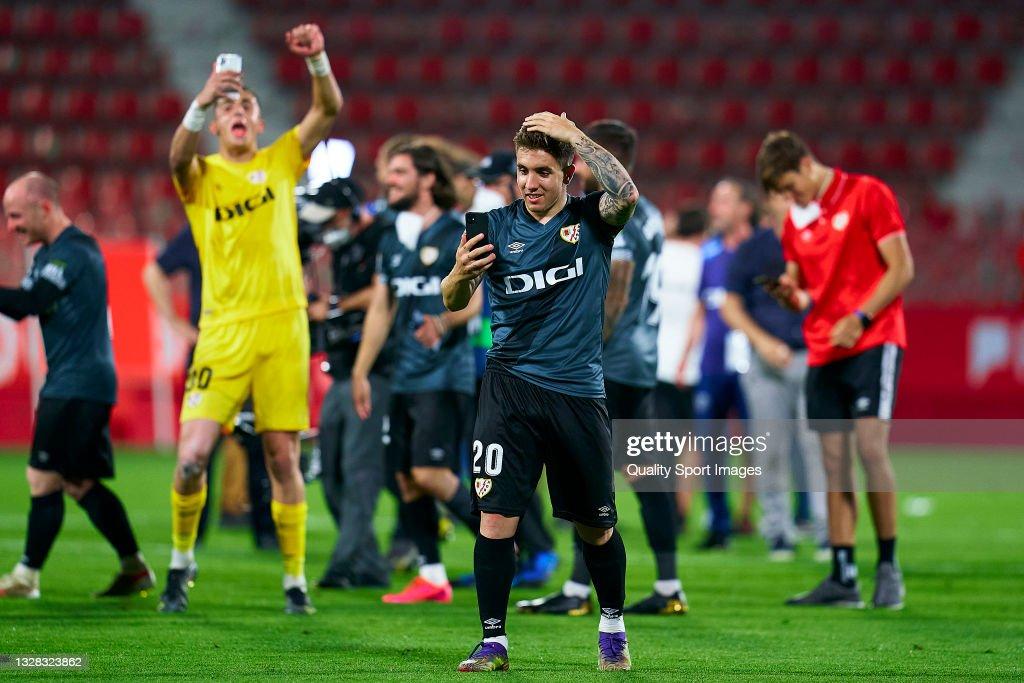 Girona FC v Rayo Vallecano - La Liga Smartbank Play-Off : News Photo