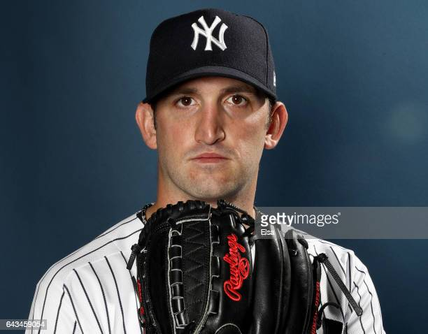 5d6e9b64572 Jonathan Niese of the New York Yankees poses for a portrait during the New  York Yankees