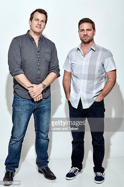 Jonathan Nolan and Greg Plageman are photographed for Entertainment Weekly Magazine at the ATX Television Fesitval on June 10 2016 in Austin Texas