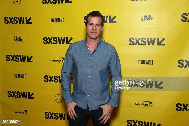 Jonathan Nolan attends the Westworld Featured Session during SXSW at Austin Convention Center on March 10 2018 in Austin Texas