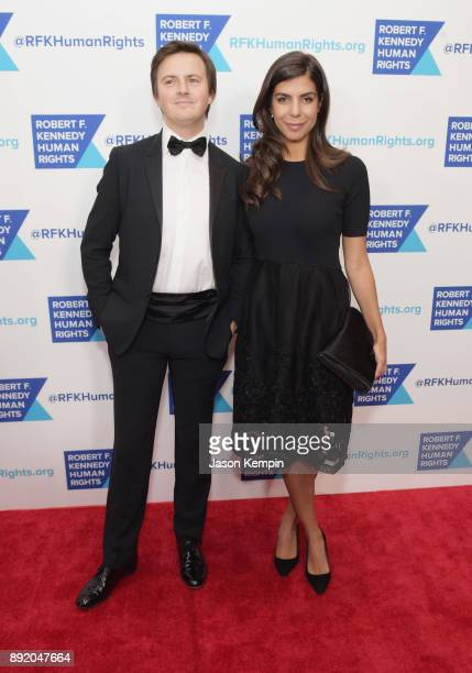 Jonathan Olinger and Nadira Dossa attend Robert F Kennedy Human Rights Hosts Annual Ripple Of Hope Awards Dinner on December 13 2017 in New York City