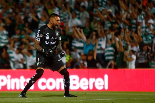 MEX: Santos Laguna v Monterrey - Torneo Apertura 2019 Liga MX