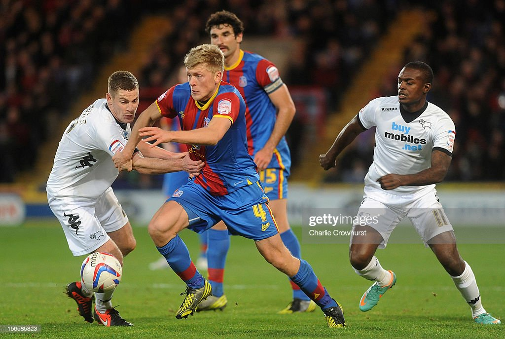 Jonathan Parr of Crystal Palace in action during the npower Championship match between Crystal Palace and Derby County at Selhurst Park on November 17, 2012 in London, England.