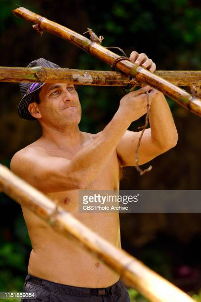 Jonathan Penner during the first episode of Survivor Micronesia Fans vs Favorites