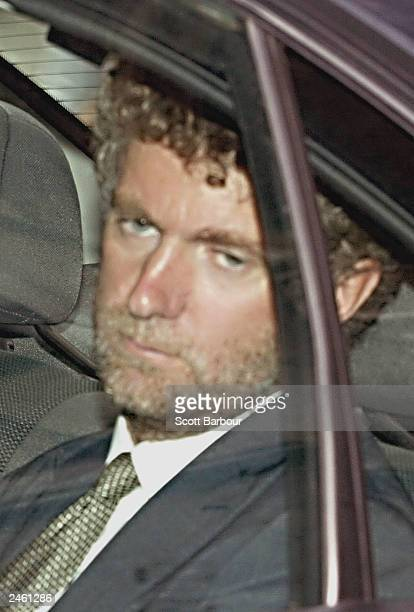 Jonathan Powell British Prime Minister Tony Blair's chief of staff leaves the high court after giving evidence at the Hutton inquiry at the High...
