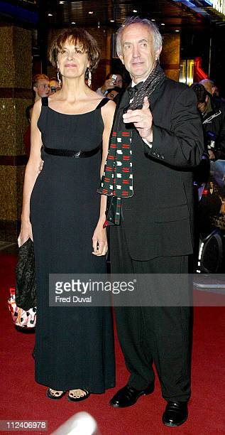 "Jonathan Pryce and guest during ""De-Lovely"" London Premiere - Arrivals at Empire Leicester Square in London, Great Britain."
