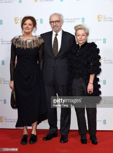 Jonathan Pryce and Kate Fahy attend the EE British Academy Film Awards 2020 Nominees' Party at Kensington Palace on February 01 2020 in London England