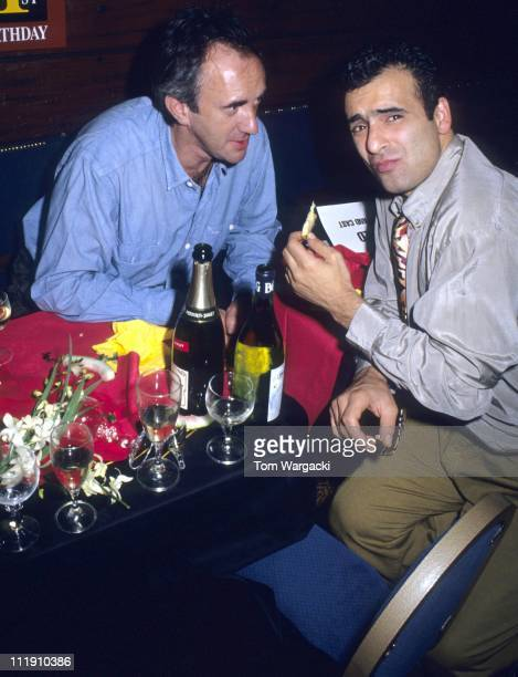 Jonathan Pryce and Peter Polycarpou during Miss Saigon First Anniversary After Party September 201990 in London Great Britain