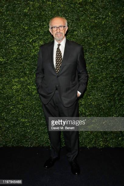 Jonathan Pryce arrives at the Charles Finch CHANEL PreBAFTA Party at 5 Hertford Street on February 1 2020 in London England