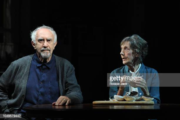 Jonathan Pryce as Andre and Eileen Atkins as Madeleine in Florian Zeller's The Height Of The Storm directed by Jonathan Kent at Wyndham's Theatre on...