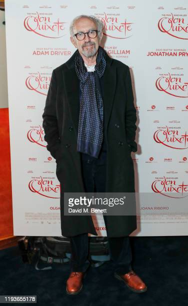 Jonathan Pryce attends a special screening of The Man Who Killed Don Quixote at The Curzon Mayfair on January 14 2020 in London England