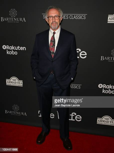 Jonathan Pryce attends the Sony Pictures Classics' Los Angeles premiere of 'The Wife' held at Pacific Design Center on July 23 2018 in West Hollywood...