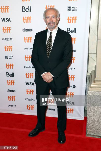 Jonathan Pryce attends The Two Popes premiere during the 2019 Toronto International Film Festival at Winter Garden Theatre on September 09 2019 in...