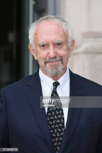 Jonathan Pryce attends the UK Premiere of 'The Wife' at Somerset House on August 9 2018 in London England