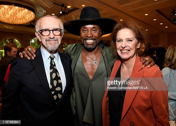 Jonathan Pryce Billy Porter and Kate Fahy attend The BAFTA Los Angeles Tea Party at Four Seasons Hotel Los Angeles at Beverly Hills on January 04...