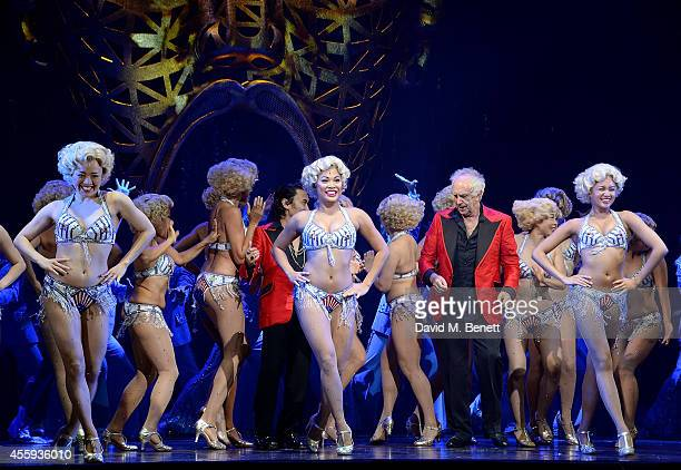 Jonathan Pryce during the 25th Anniversary Gala Performance of Miss Saigon at the Prince Edward Theatre on September 22 2014 in London England