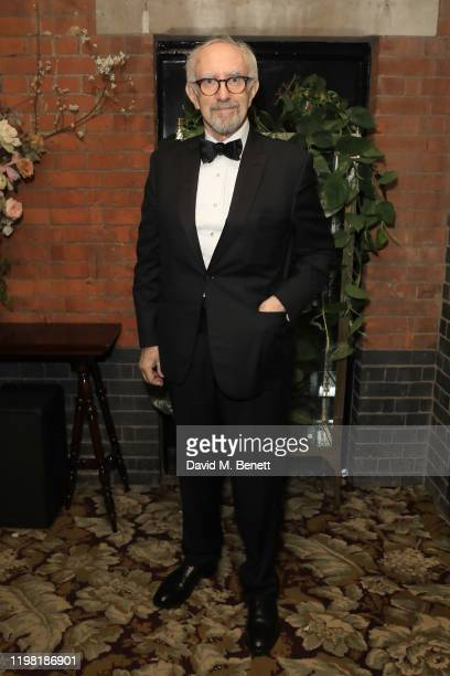 Jonathan Pryce poses the Netflix BAFTA after party at Chiltern Firehouse on February 2 2020 in London England
