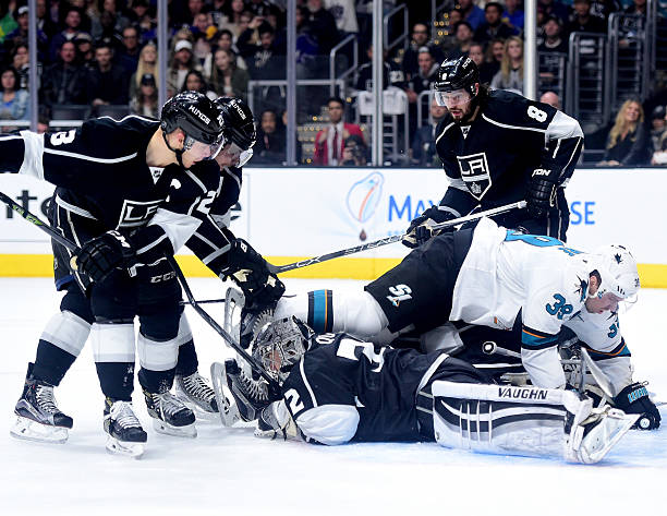 San Jose Sharks v Los Angeles Kings - Game Two