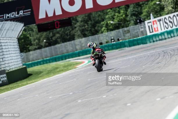 1 Jonathan Rea GBR Kawasaki ZX10RR Kawasaki Racing Team WorldSBK during the Motul FIM Superbike Championship Italian Round race 2 during the World...