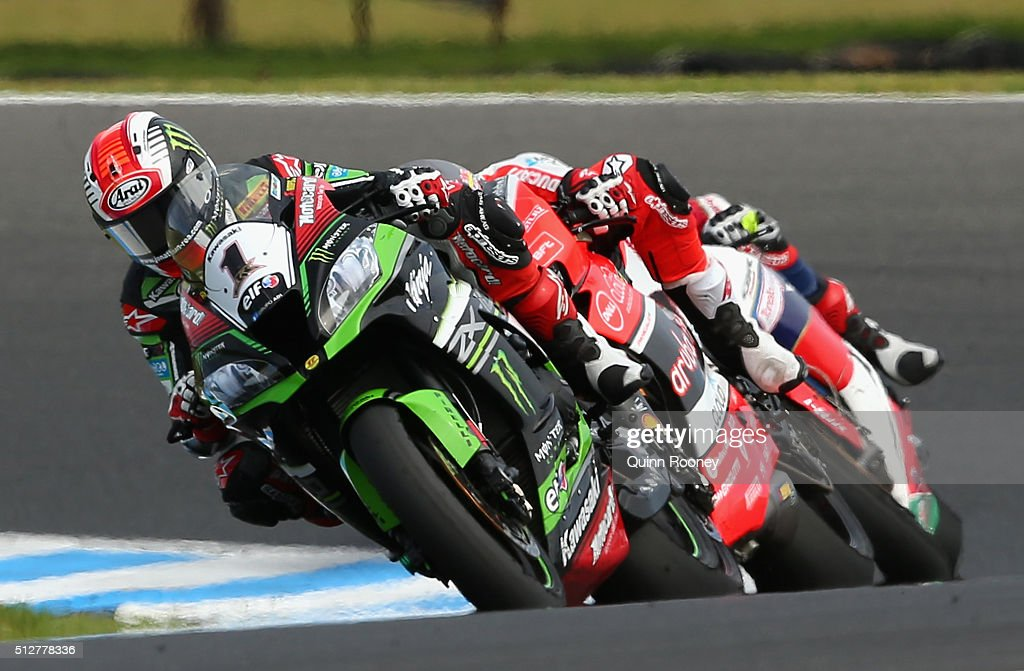 World Superbike Championship Round One - Race 2