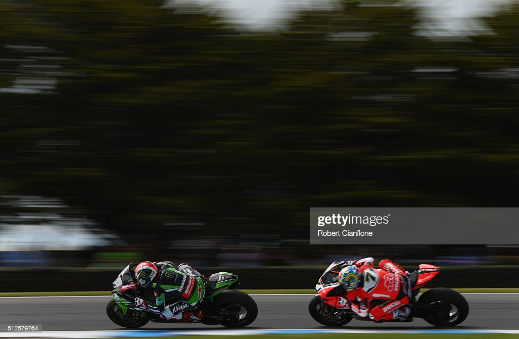 World Superbike Championship Round One - Qualifying And Race 1