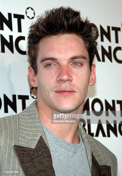 Jonathan Rhys Meyer during Claire Danes Hosts Montblanc 100th Anniversary Diamond Launch March 14 2006 at New Space in New York City New York United...