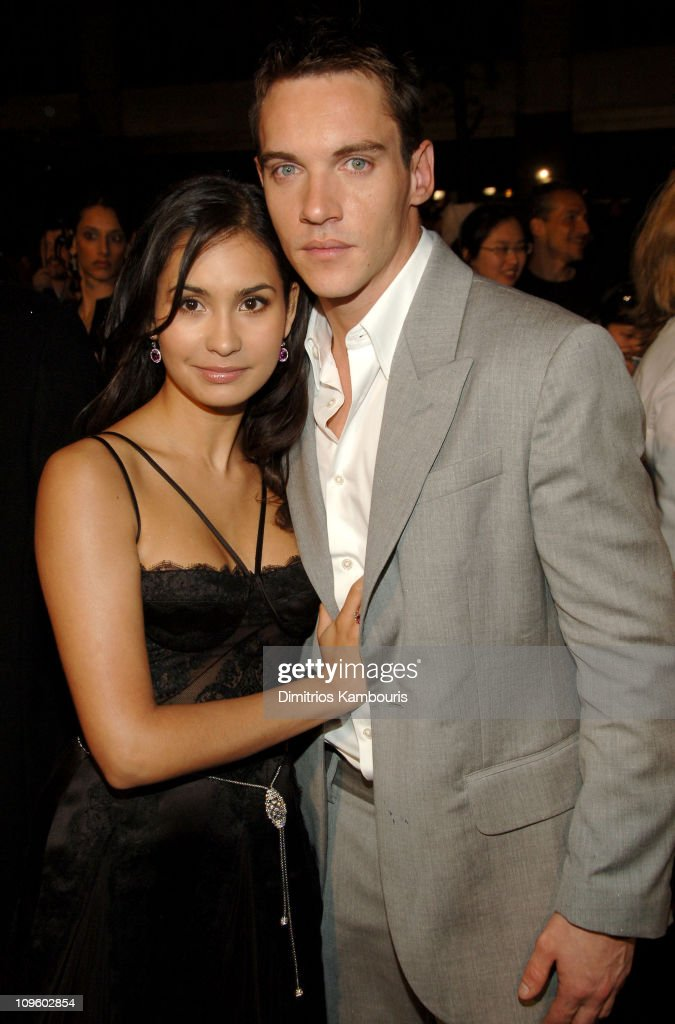 Jonathan Rhys Meyers (right) and Reena Hammer during 5th Annual Tribeca Film Festival - 'Mission: Impossible III' New York Premiere - Arrivals at Ziegfeld Theater in New York City, New York, United States.