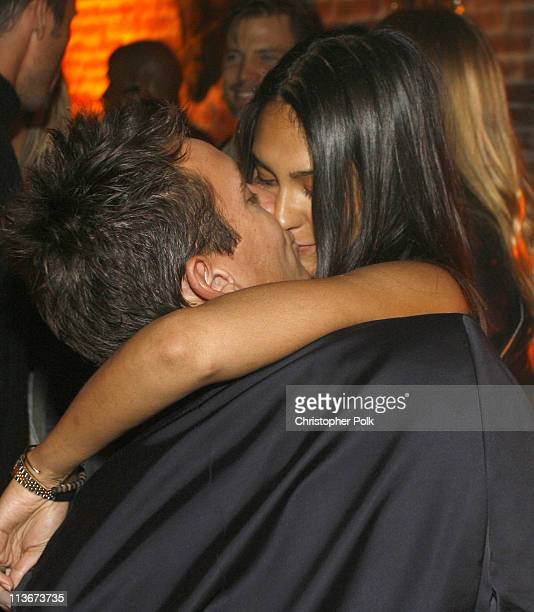 Jonathan Rhys Meyers and Reena Hammer during 'The Tudors' Los Angeles Premiere After Party at Egyptian Theatre in Hollywood California United States