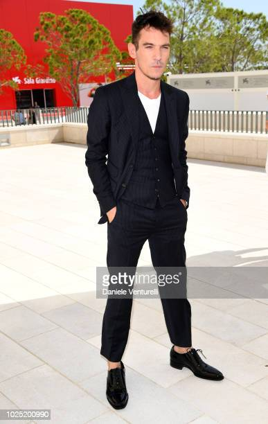 Jonathan Rhys Meyers attends 'The Aspern Papers' photocall during the 75th Venice Film Festival at Sala Casino on August 30 2018 in Venice Italy