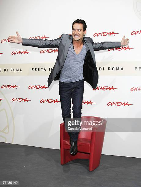 Jonathan Rhys Meyers attends the 'August Rush' photocall during Day 3 of the 2nd Rome Film Festival on October 20 2007 in Rome Italy