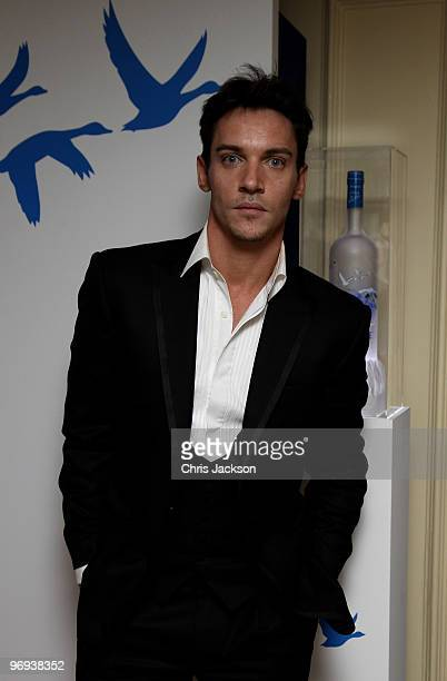Jonathan Rhys Meyers attends the BAFTA Soho House Grey Goose after party at the Grosvenor House Hotel on February 21 2010 in London England