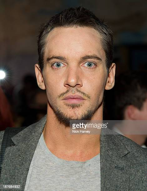 Jonathan Rhys Meyers attends the book launch of Art Studio America at ICA on November 11, 2013 in London, England.