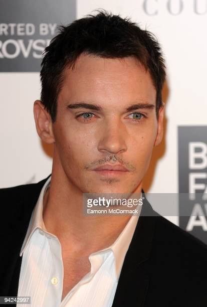 Jonathan Rhys Meyers attends the British Fashion Awards at Royal Courts of Justice Strand on December 9 2009 in London England