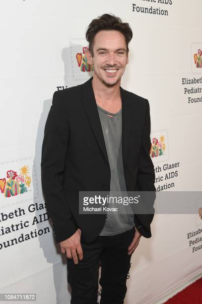 Jonathan Rhys Meyers attends The Elizabeth Glaser Pediatric AIDS Foundation's Annual 'A Time For Heroes' Family Festival at Smashbox Studios at...