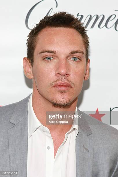 """Jonathan Rhys Meyers attends the official launch party for the third season of Showtime's """"The Tudors"""" at the Conde Nast Building on March 30, 2009..."""