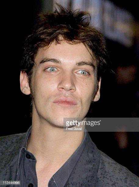 Jonathan Rhys Meyers during 'The Matrix Reloaded' London Premiere at Odeon Leicester Square in London Great Britain