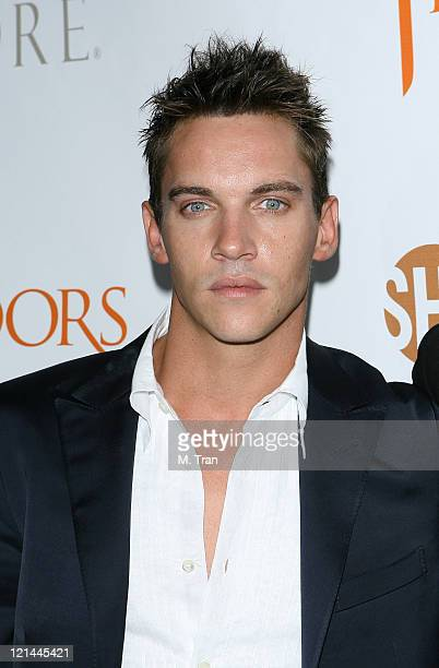 Jonathan Rhys Meyers during The Tudors Los Angeles Premiere Arrivals at Egyptian Theatre in Hollywood California United States