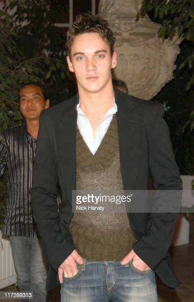 Jonathan Rhys Meyers during Women To Women Positively Speaking Party A Publication to Raise Awareness of Women Living With HIV / AIDS Inside at The...